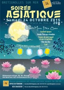 affiche soirée asiatique 2015